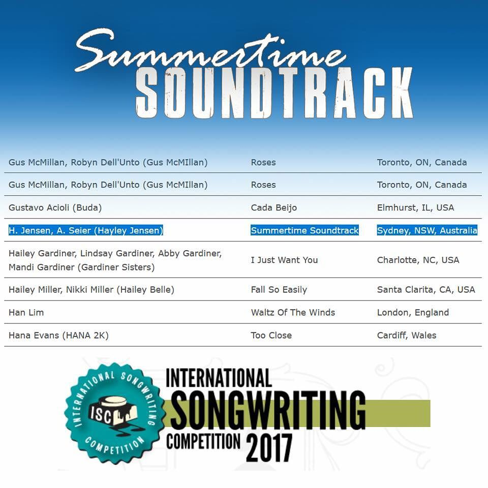 Exciting news! Summertime Soundtrack that I wrote with my greathellip