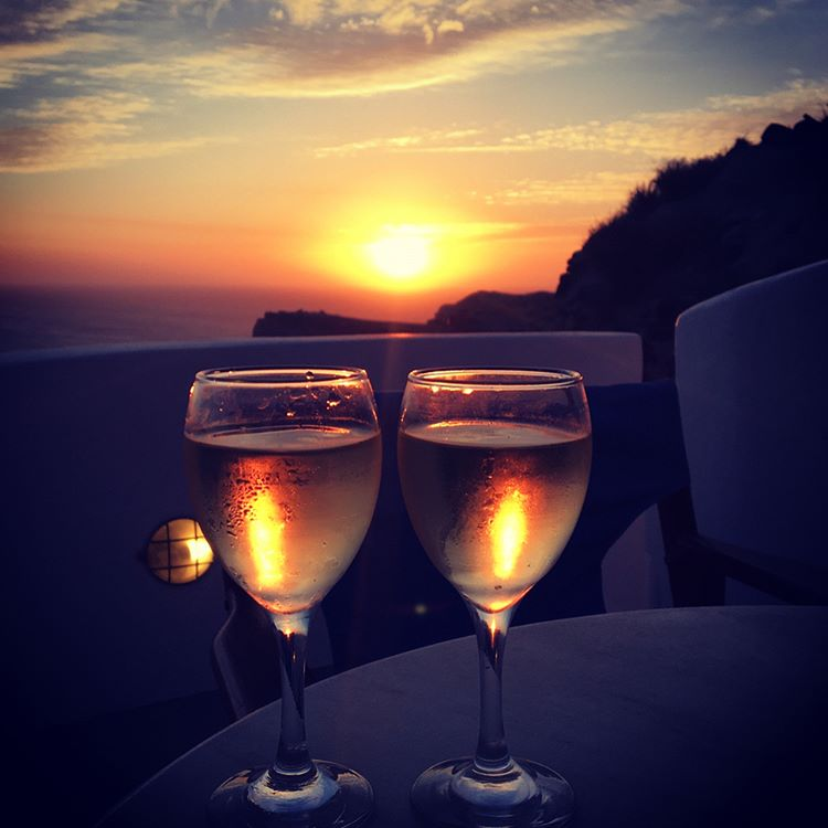 Santorini you are divine! holidays lovelife sunset love