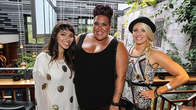 Hayley supports fellow Idol, Casey Donovan, at book launch