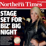 Northern Times - Local business Awards - Hayley Jensen