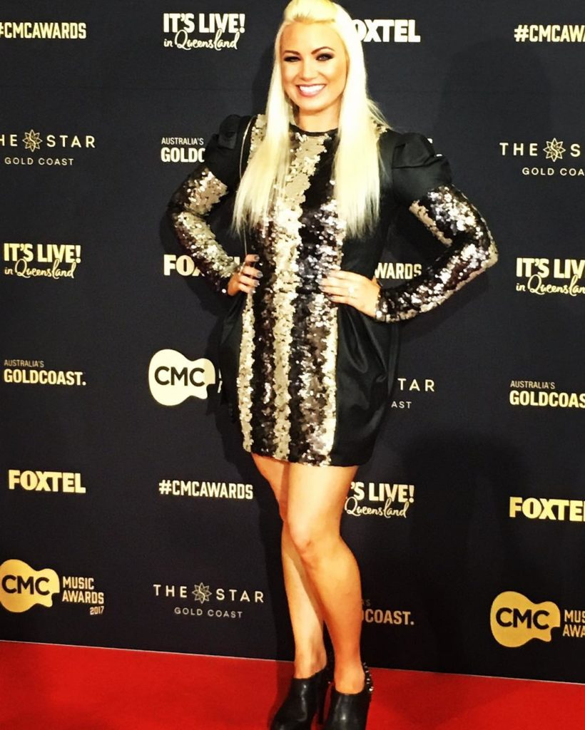 On the cmcawards redcarpet  cmcaustralia wearing racyandlucky  workingbullcomau