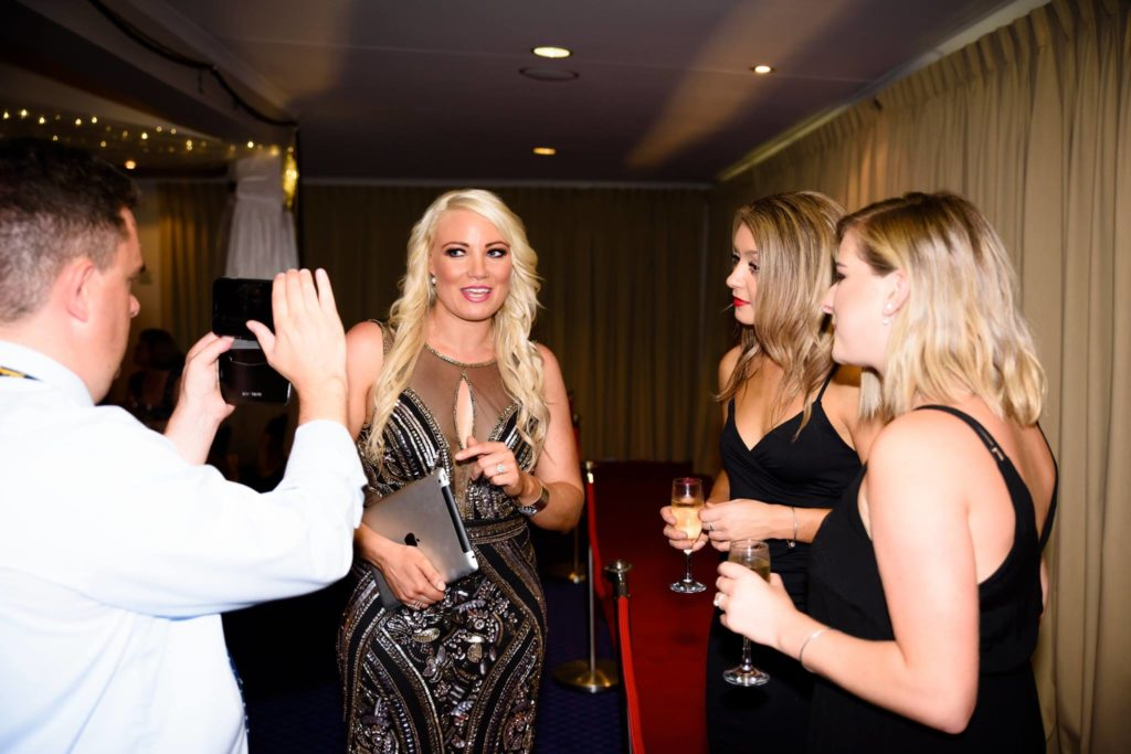 Hayley Jensen and Mae Valley Red Carpet at Gala Dinner TCMF2017