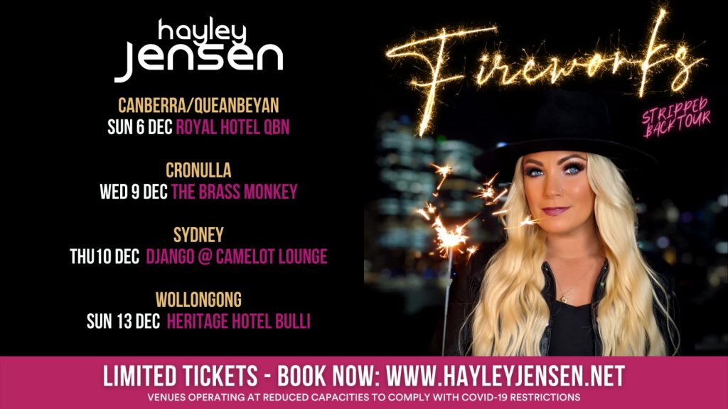 TICKETS to the FIREWORKS NSW TOUR now on sale!